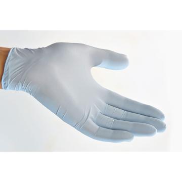 Guantes de nitrilo recubiertos de avena coloidal