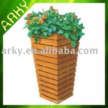 Wooden Garden Pot