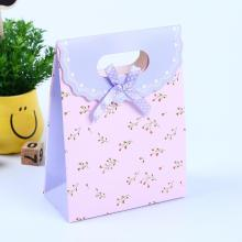 New Products Paper Bag With Ribbon