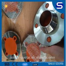 Aço Inoxidável ANSI B16.5 melhor preço wn rf flange 600