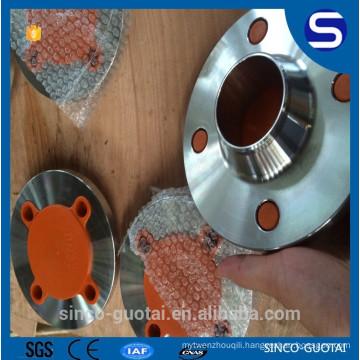 ANSI B16.5 stainless steel best price wn rf flange 600