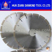 Outils de coupe à diamant à lame segmentée de type ventilateur 250 mm à vendre