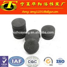 Carbón de leña shisha de coco natural personalizado para cachimba