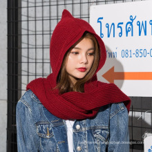 2017 New Arrival Best Selling Custom Knit Beanie Scarf