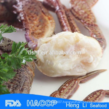 HL003 healthy seafood crab cut with HACCP Certification