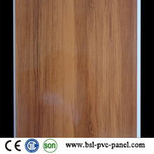 25cm 7mm Hotstamp Madeira Padrão PVC Painel Teto PVC Hotselling na Argélia