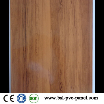 25cm 7mm Hotstamp Wood Pattern PVC Panel PVC Ceiling Hotselling in Algeria