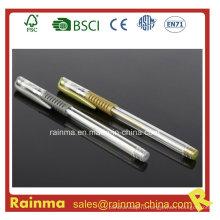 Дешевая ручка для геля с серебром и золотистым цветом