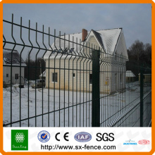 folding 3v metal fence with garden