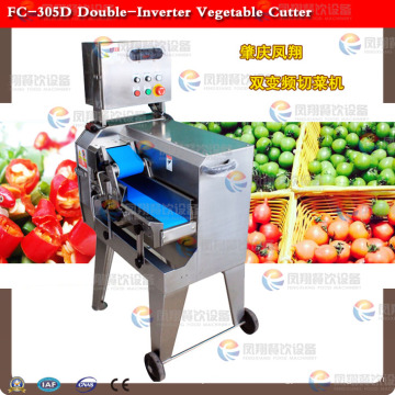Double-Inverter Vegetable Cutting Machine
