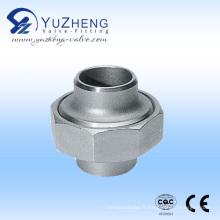 Syndicat conique de l'industrie de l'acier inoxydable avec joint F / F