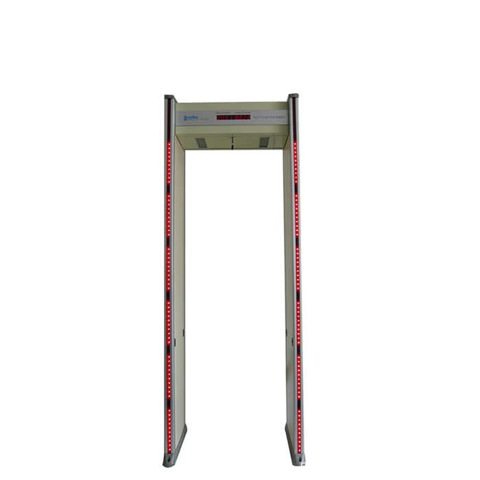walk through metal detector for security