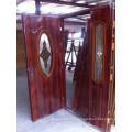New Color Steel Door with Glass Design