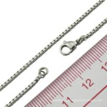 Italiano 925 prata esterlina diferentes tipos de colar de corrente jóias