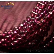 Прямая связь с розничной торговлей фабрики Gemstone свободная 4mm Бразилия естественный Gemstone граната