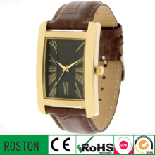 Customized Logo Japan Movement Square Men Watch