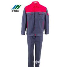 Colorful Man's Long Warm Coat