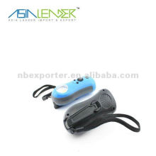 Mini-Dynamo-Taschenlampe mit Radio