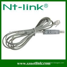 Mit Modular Plug 2 Pole 4 Pole Testing Kabel