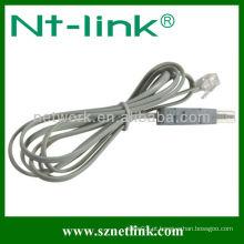 Com Modular Plug 2 Pole 4 Pole Testing Cable