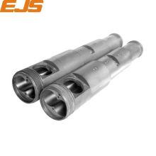 Zhoushan 55 110 Bimetall Extruder konische Twin Schraube Fass
