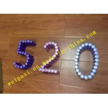 3.7V1800mAh, bateria de lítio, Li-ion 18650, cilíndrica, recarregável