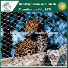 304 stainless steel animal enclosure mesh/steel rope mesh net for animal