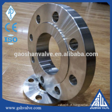 "Standard 1/2 ""-24"" aço carbono a105 deslizamento na flange DIN flange"