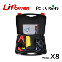 2015 best selling car accessory 12 volt lithium ion battery jump starter with 13600mah 18000mah