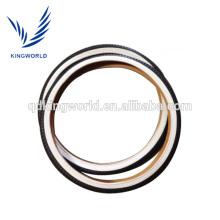 Neumático de la bicicleta de la pared del blanco de 26 pulgadas, opción de la calidad del neumático de la bici del color de 26 pulgadas
