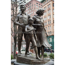 Big bronze family sculpture CLBS-L056R