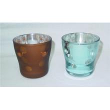 Bouchon de vitre en verre coloré pour décoration intérieure