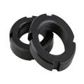 M10M12M15 DIN981 Carbon Steel Rolling Bearing Lock Nut