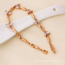 Xuping Rose Gold Color Bracelet Fashion Jewelry