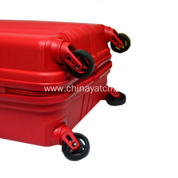 Unbreakable trolley spinner PP luggage