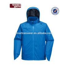 Vente chaude pluie manteau imperméable imperméable imperméable PU veste de pluie