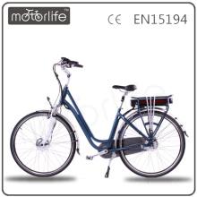 MOTORLIFE/OEM 2015 new Europe style 28inch tailg e bike, high quality electric bike