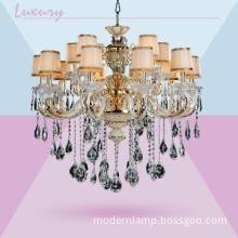 square modern crystal chandelier