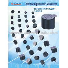 Zumbador activo magnético 24v fabricante