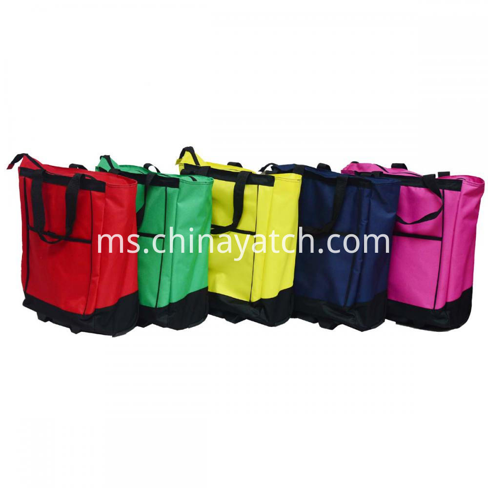 Multi-colors Shopping Bag