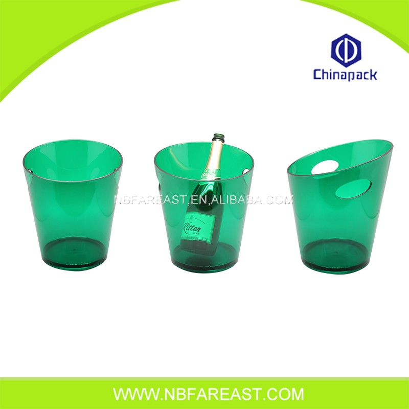 Modern design cheap plastic ice bucket