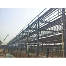 Structure portative solide en acier robuste en tant que bâtiment d'atelier d'entrepôt