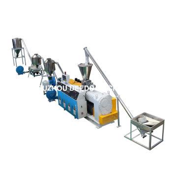 El corte caliente del PVC muere el granulador principal, línea de la granulación del PVC, máquina granuladora