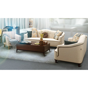 Новые прибытия ткань диван, мебель для дома, простой дизайн диван (M615)