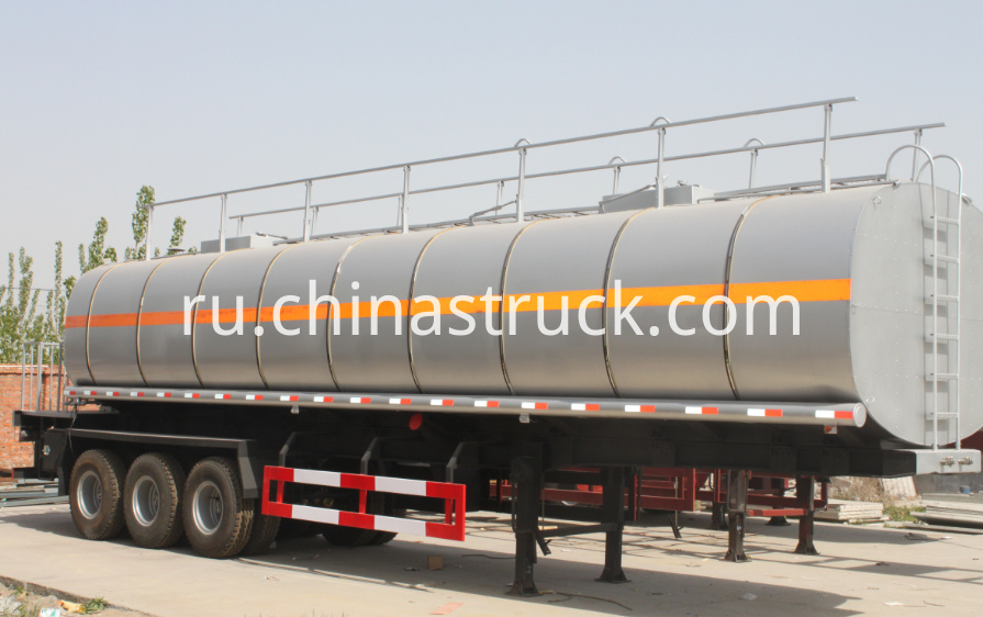 3 axle 40CBM bitumen tank with bitumen pump