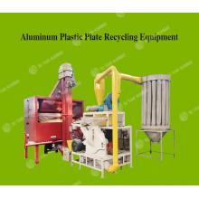 Máquina de reciclagem de alumínio de bolha de sucata