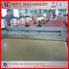 Plástico de madeira composto wpc mobiliário placa máquina wpc máquina de cofragem