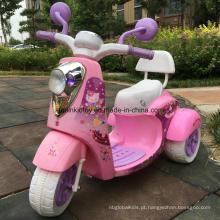 Motocicleta elétrica das crianças