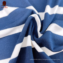 Factory price wholesale textiles  viscose fabric Manufacturer  oeko-tex stripe rayon  spandex fabrics for clothing