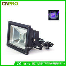 20W IP65 UV LED Flood Light for Curing Blacklight Fishing